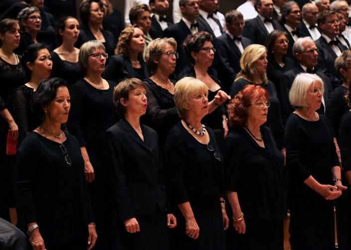 Sängerinnen Münchner Brahms-Chor