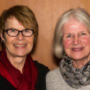 Brigitte (Alt) und Hanne (Sopran)